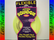Aerobie Squidgie Flying Disc Yellow