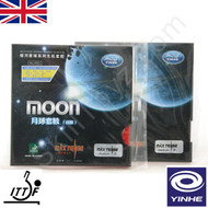 Yinhe Moon Max Tense Table Tennis Bat Rubbers - medium hardness