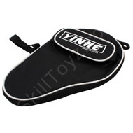 Yinhe Table Tennis Padded Soft Zipped Bat Case - Black