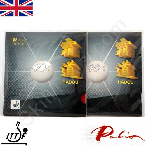 2 x Palio Hadou 40+ Table Tennis Bat Rubbers 40-42