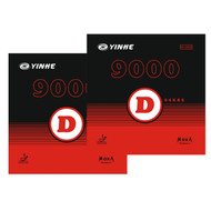 Yinhe 9000 D Table Tennis Bat Rubbers Medium PAIR