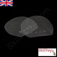 2 x Table Tennis Bat Rubber Protectors Single Sided Non Adhesive