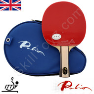 Palio 2 Star Expert Table Tennis Bat with case (grey handle)