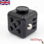 Fidget Cube - Six sides – six functions – endless fidgeting! Colour: Black