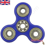 Shown with finger-pads removed from the ceramic ZrO2 centre bearing. A spinner is a fingertip gyroscope, and is a popular fidget toy.