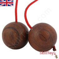 SkillToyz Chinese Cherry wooden Begleri with red colour type 95 Paracord.