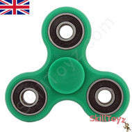 Green SkillToyz R188 finger spinner ready to play!