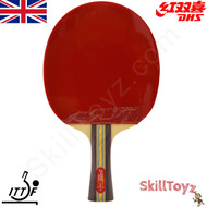 DHS (Double Happiness) Table Tennis Bat, model A3002 with free SkillToyz rubber protectors