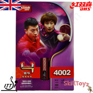 Supplied in its original packaging DHS (Double Happiness) Table Tennis Bat, model R4002