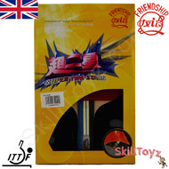 Boxed Friendship 729 Table Tennis Bat model Super 2 Star with free SkillToyz rubber protectors