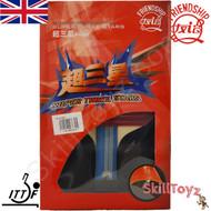 Boxed Friendship 729 Table Tennis Bat model Super 3 Star with free SkillToyz rubber protectors