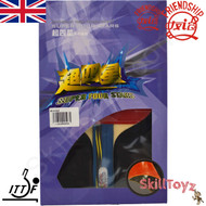 Boxed Friendship 729 Table Tennis Bat model Super 4 Star with free SkillToyz rubber protectors