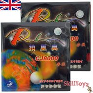 Palio CJ8000 Two Side Loop Table Tennis Bat Rubbers 36-38 CHOOSE COOUR
