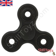 Shown with the supplied black finger pads fitted over the centre bearing of the spinner. Ready to play!