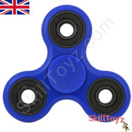 Shown with the supplied blue finger pads fitted over the centre bearing of the spinner. Ready to play!