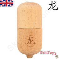 Dragon Kendama Pill Premium Beech wood Traditional Wooden skill toy. Exclusive to SkillToyz.com.