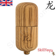 Dragon Kendama Pill Premium Zebrano Hardwood Traditional Wooden Skill Toy