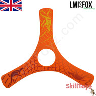 LMI and Fox Boomerangs Spin Racer 2 Float is a lovely beginners boomerang. RIGHT HANDED. Colour: orange. This model floats in water making it ideal for beaches or other waterside locations.