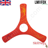 LMI and Fox Boomerangs Spin Racer 2 Float is a lovely beginners boomerang. RIGHT HANDED. Colour: red. This model floats in water making it ideal for beaches or other waterside locations.