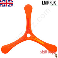LMI and Fox Boomerangs Coach 3 blade floating plastic boomerang orange RIGHT HANDED. An excellent boomerang for learners.