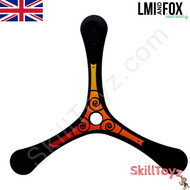 LMI and Fox Boomerangs Coach 3 blade carbon boomerang  RIGHT HANDED. An excellent boomerang for all skill levels.