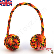 Monkey Fist Paracord Begleri 5 Inch Fire Edition For sale at skilltoyz.com