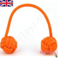 Monkey Fist Paracord Begleri 5 Inch orange tango Edition For sale at skilltoyz.com