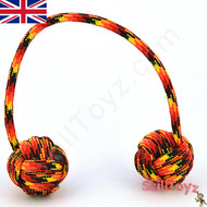 Monkey Fist Paracord Begleri 6 Inch Fire Edition For sale at skilltoyz.com