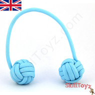 Monkey Fist Paracord Begleri 6 Inch baby blue Edition For sale at skilltoyz.com