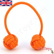 Monkey Fist Paracord Begleri 6 Inch Orange Tango Edition For sale at skilltoyz.com