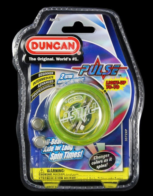 Duncan Pulse LED Light-up Yo-yo Yellow