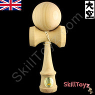 Ozora Keyaki premium hardwood kendama from Japan.
