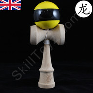 Dragon Kendama yellow with black stripe 'Wasp' Edition