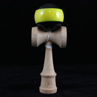 Dragon Beech wood Kendama black with yellow stripe 'Bee' Edition