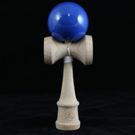 Dragon Kendama made from natural beech wood 'Royal Blue' colour