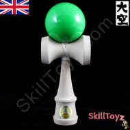 Ozora Japanese Wooden Skill Toy Kendama - Solid Green