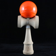 Dragon wooden Kendama Solid Neon Pink colour skill agility and dexterity toy.