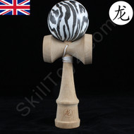 Dragon Wooden 'Zebra' Edition Kendama Toy