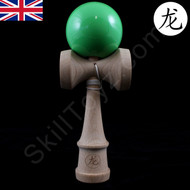 Dragon Wooden Kendama game of skill - Solid 'Leaf Green' colour