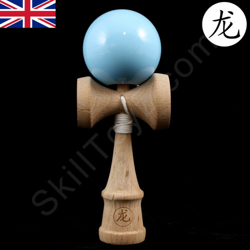 Dragon Baby Kendama Tiny playable wooden skill toy sky blue