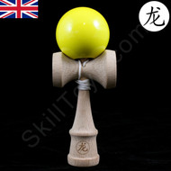 Dragon Baby Kendama Tiny playable wooden skill toy yellow