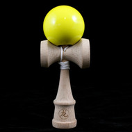 Dragon Baby small wooden childs Kendama Yellow