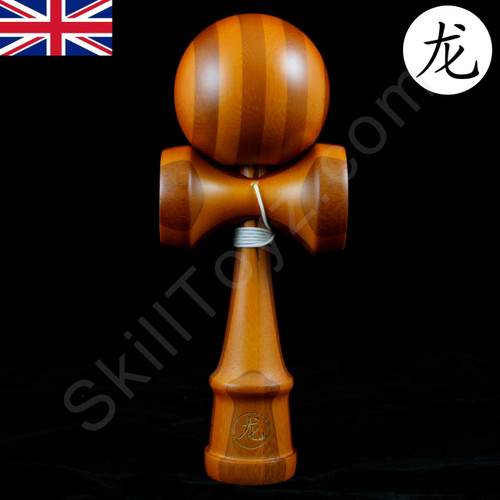 Dragon Kendama Bamboo 'Golden Oak' wooden toy