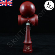 Dragon Kendama 'mahogany' colour varnished wood skill toy