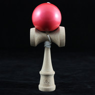 Dragon Baby Kendama Tiny playable wooden skill toy Metallic Red