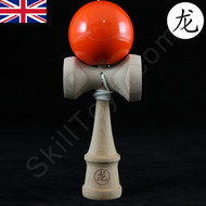 Dragon Baby Kendama Tiny playable wooden skill toy orange