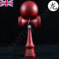 Dragon Kendama Bamboo wood with a Mahogany finish