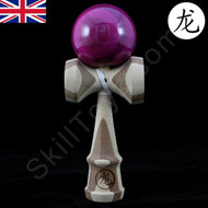 Dragon Kendama Bamboo Purple Natural wooden toy