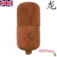 Dragon Kendama Pill Premium Cherry Hardwood Traditional Wooden Toy