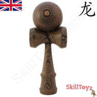 Dragon Kendama Premium Edition made from natural Kassod Hardwood.